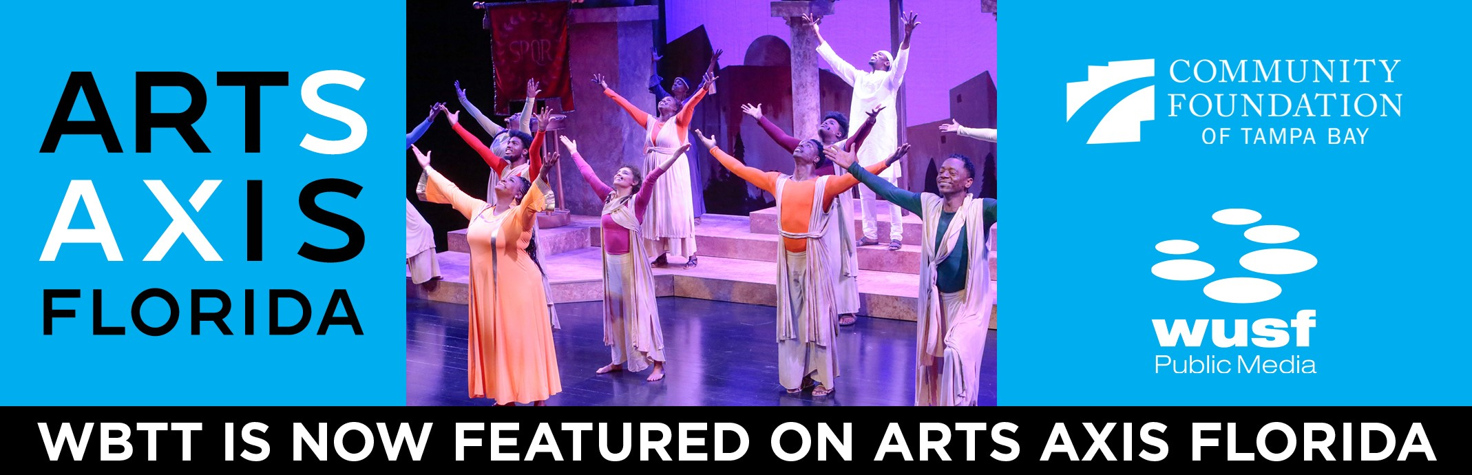 WBTT is now featured on Arts Axis Florida!